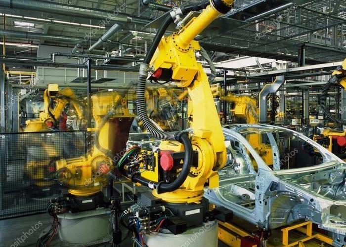 Автоматизация управления подъёмно-транспортными машинами и роботами